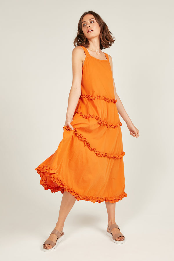 HASTING DRESS - SAFFRON