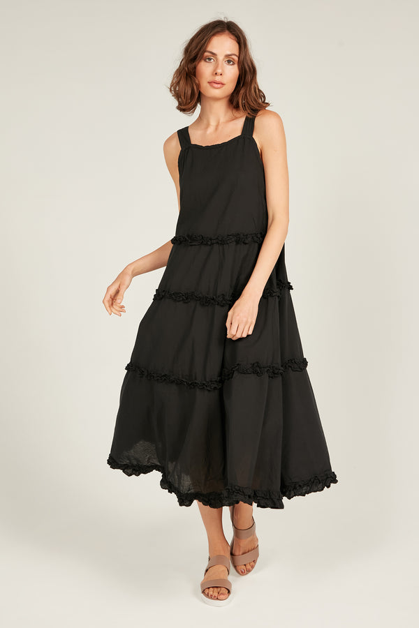 HASTING DRESS - NOIR