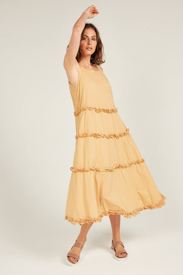 HASTING DRESS - MARIGOLD