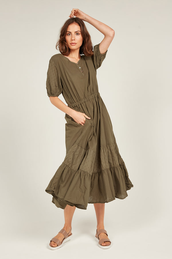 JOLEE SUNDRESS - OLIVE