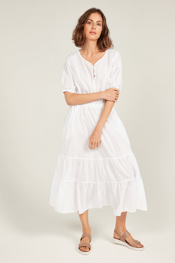 JOLEE SUNDRESS - BLANC