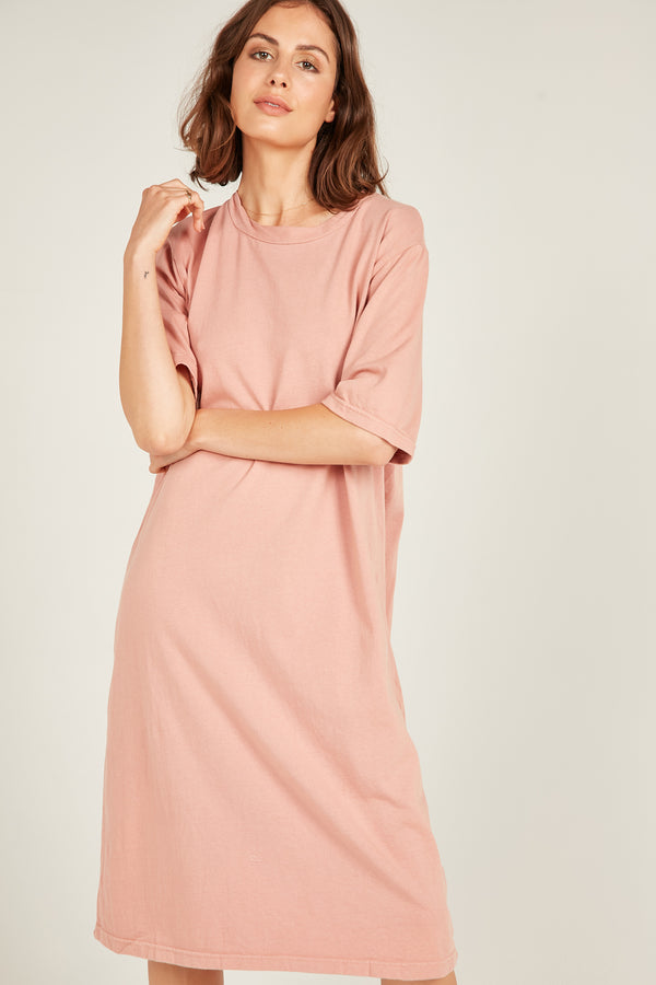 MONA TEE DRESS - PINK KISS