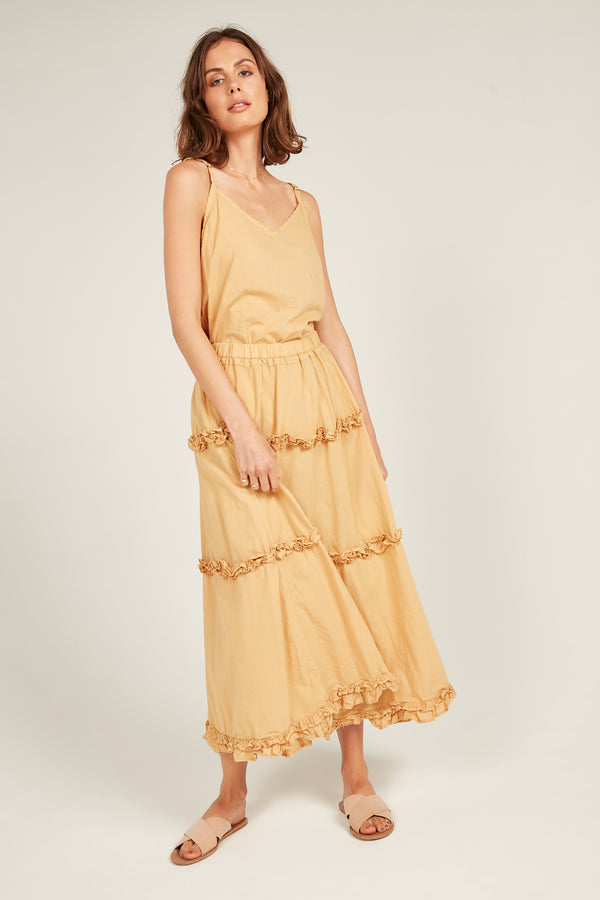 HASTING SKIRT - MARIGOLD