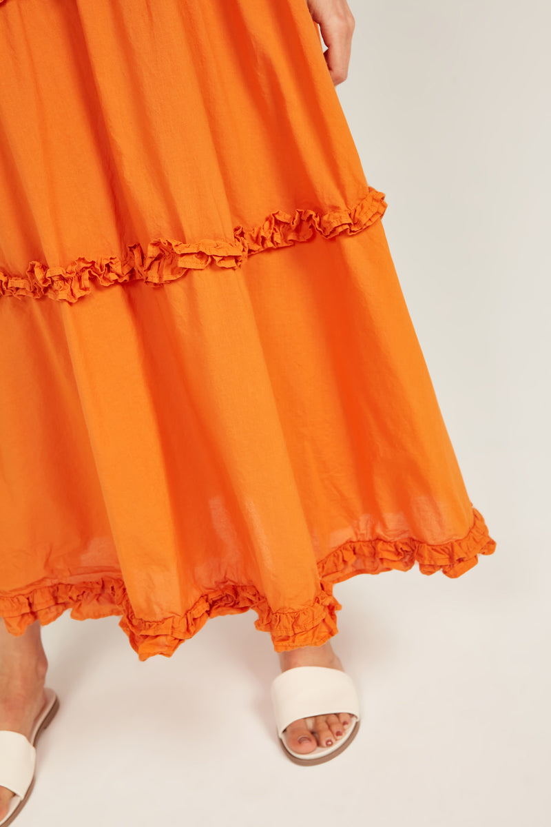 HASTING SKIRT - SAFFRON