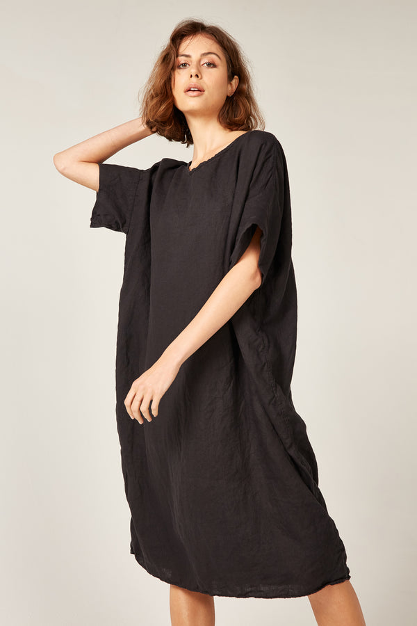 LIN DRESS - NOIR
