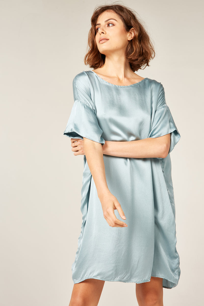 SUNCHASER TUNIC - LIQUID BLUE