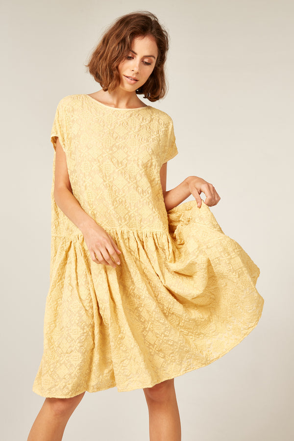 LELOU DRESS - SUNFLOWER