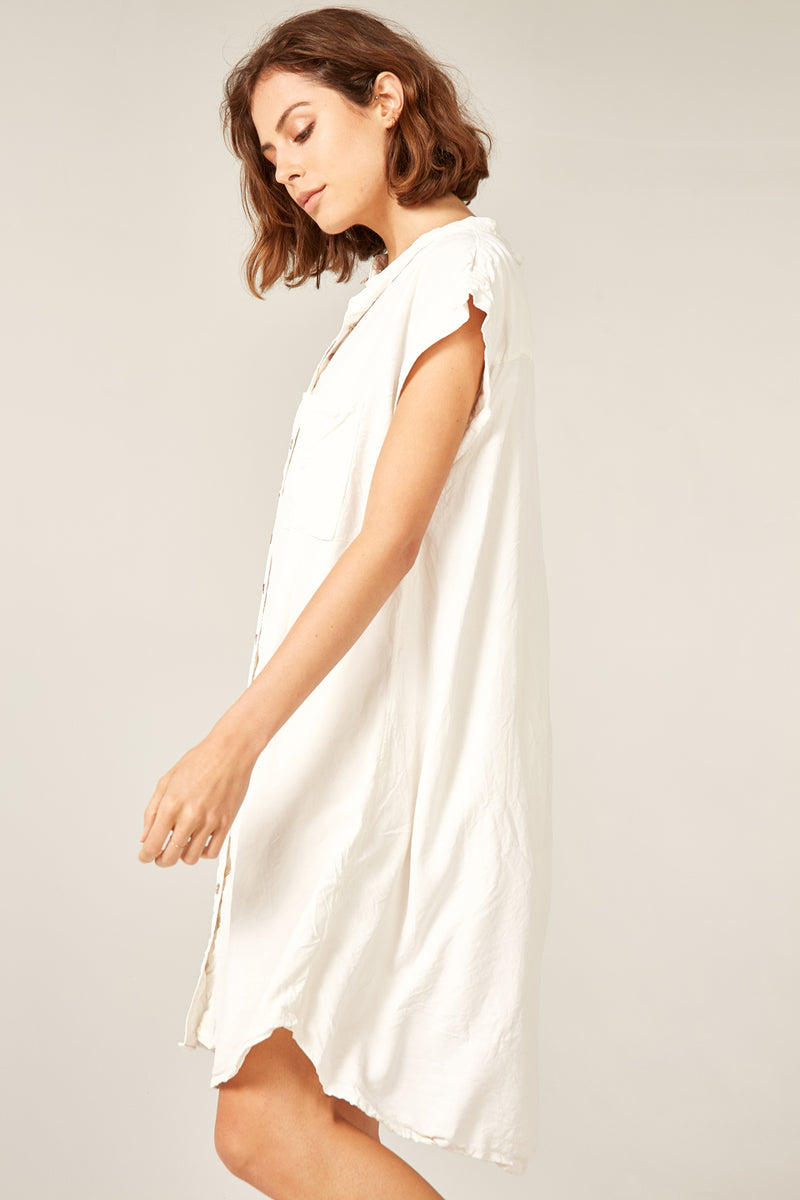 DAMI DRESS - CREAMY - SIZE 3 LEFT