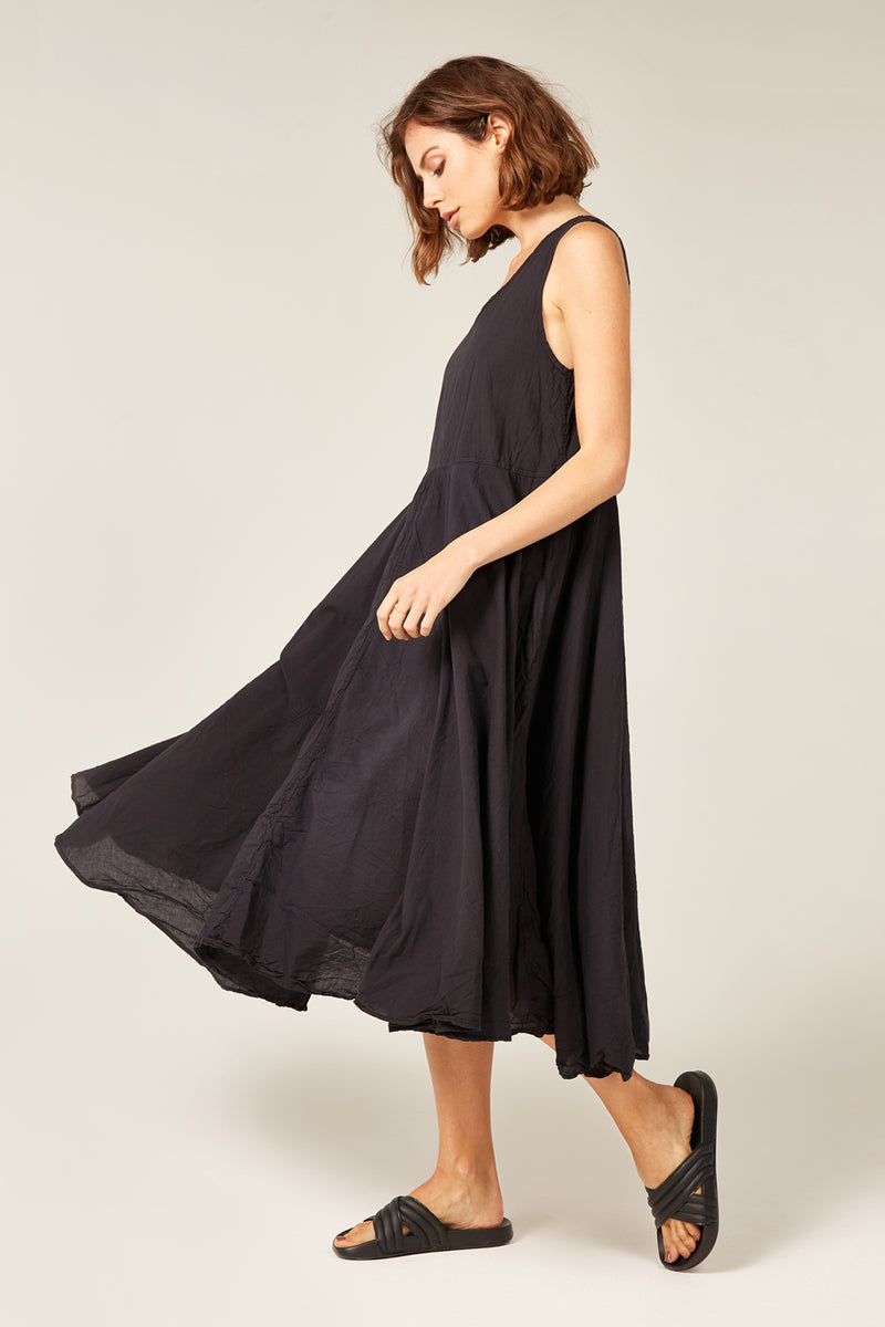 BYRON SUNSETS DRESS - NOIR