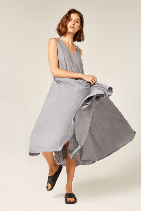 BYRON SUNSETS DRESS - CHARCOAL