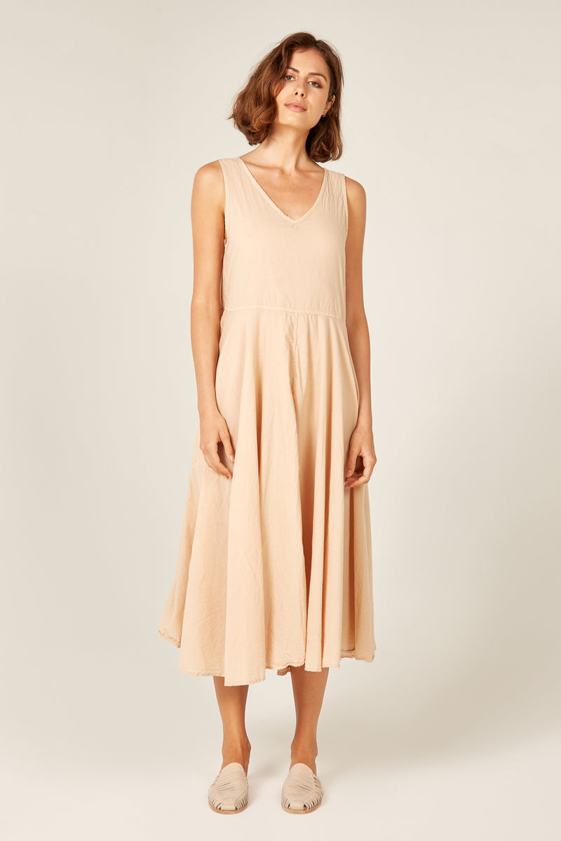 BYRON SUNSETS DRESS - SAND