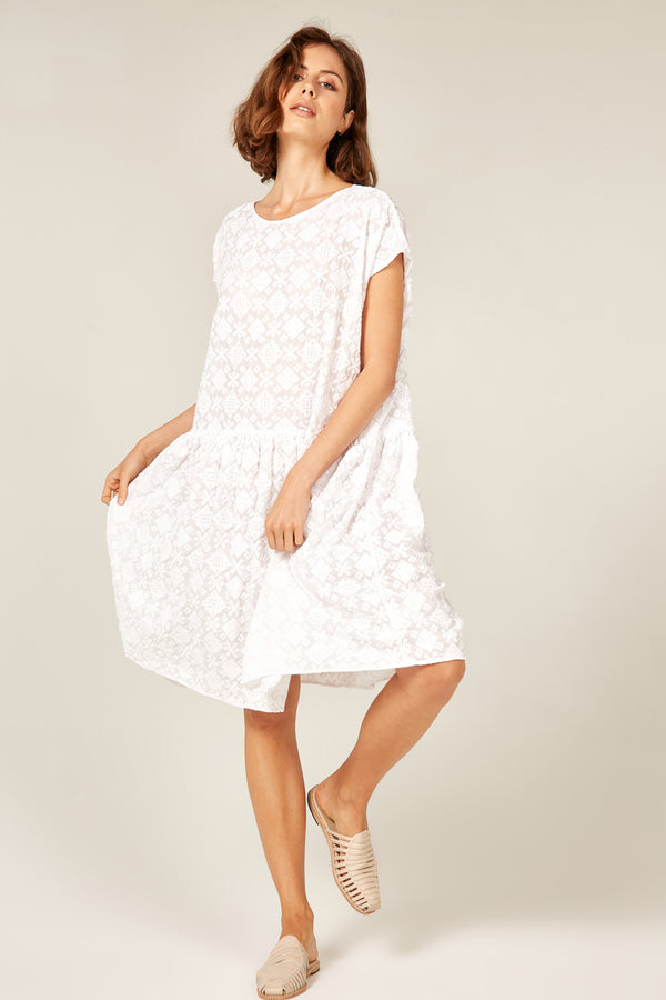 LELOU DRESS - BLANC