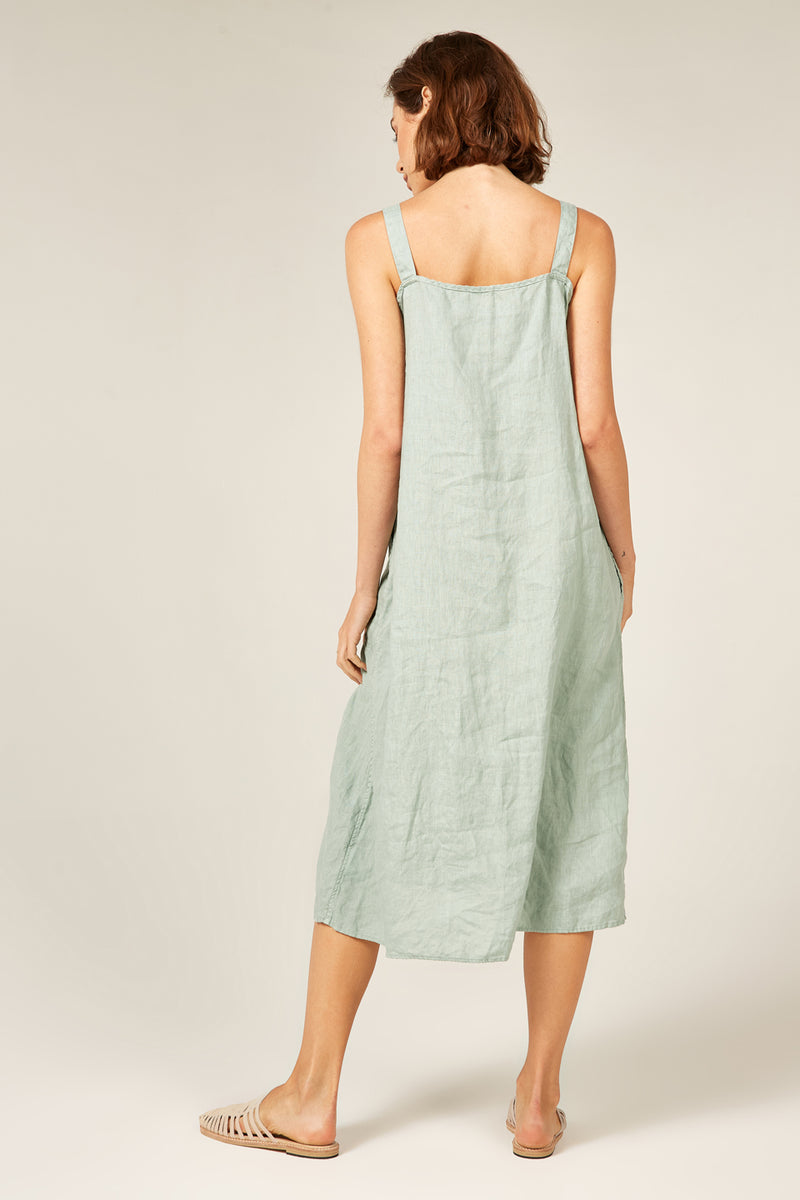 YUKU DRESS - PISTACHIO