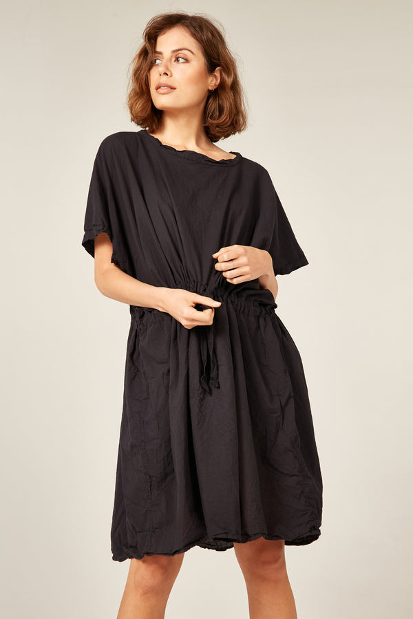 BEACH COVER UP - NOIR
