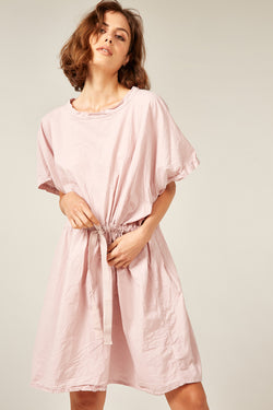 BEACH COVER UP - ROSY BROWN
