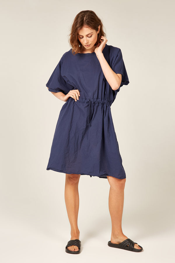 BEACH COVER UP - NAVY