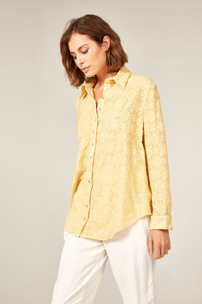 LELOU SHIRT - SUNFLOWER