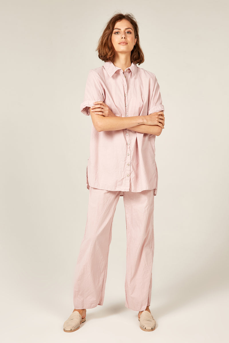 DEVOILE SHIRT - ROSY BROWN