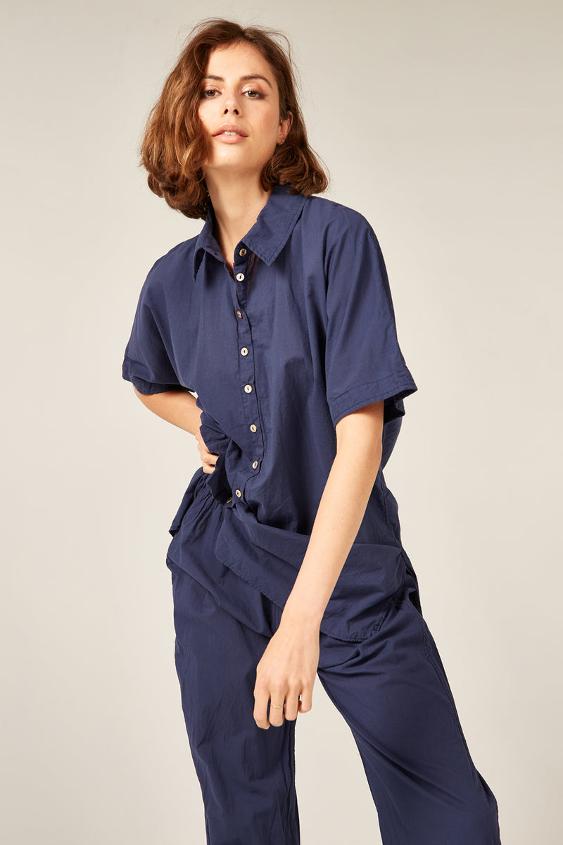 DEVOILE SHIRT - NAVY