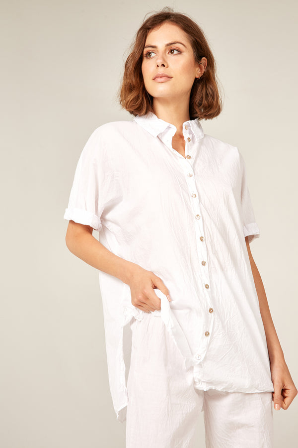 DEVOILE SHIRT - BLANC