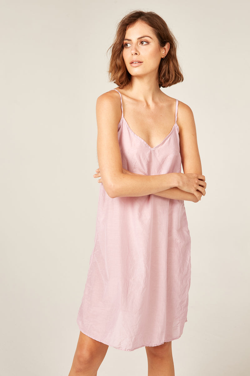 CANNE SLIP - POWDER PINK