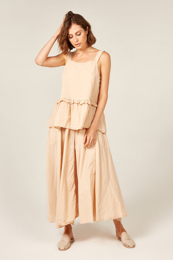 BYRON SUNSETS SKIRT - SAND