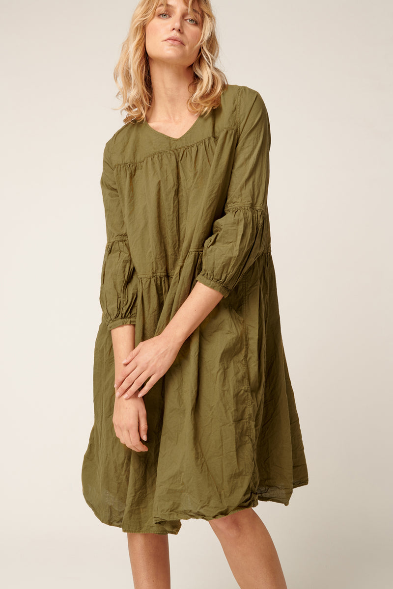 BIBY DRESS - LAKE GREEN