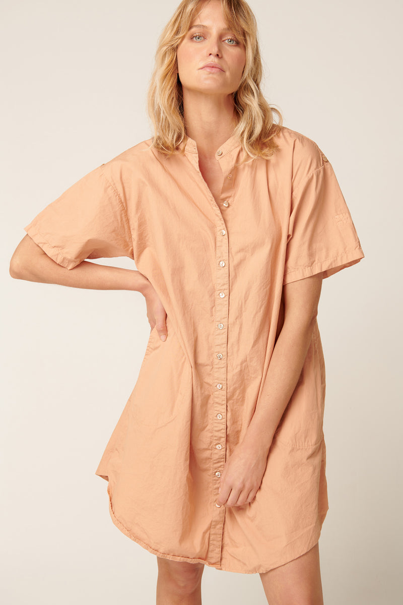 GOPPI DRESS - PEACHED