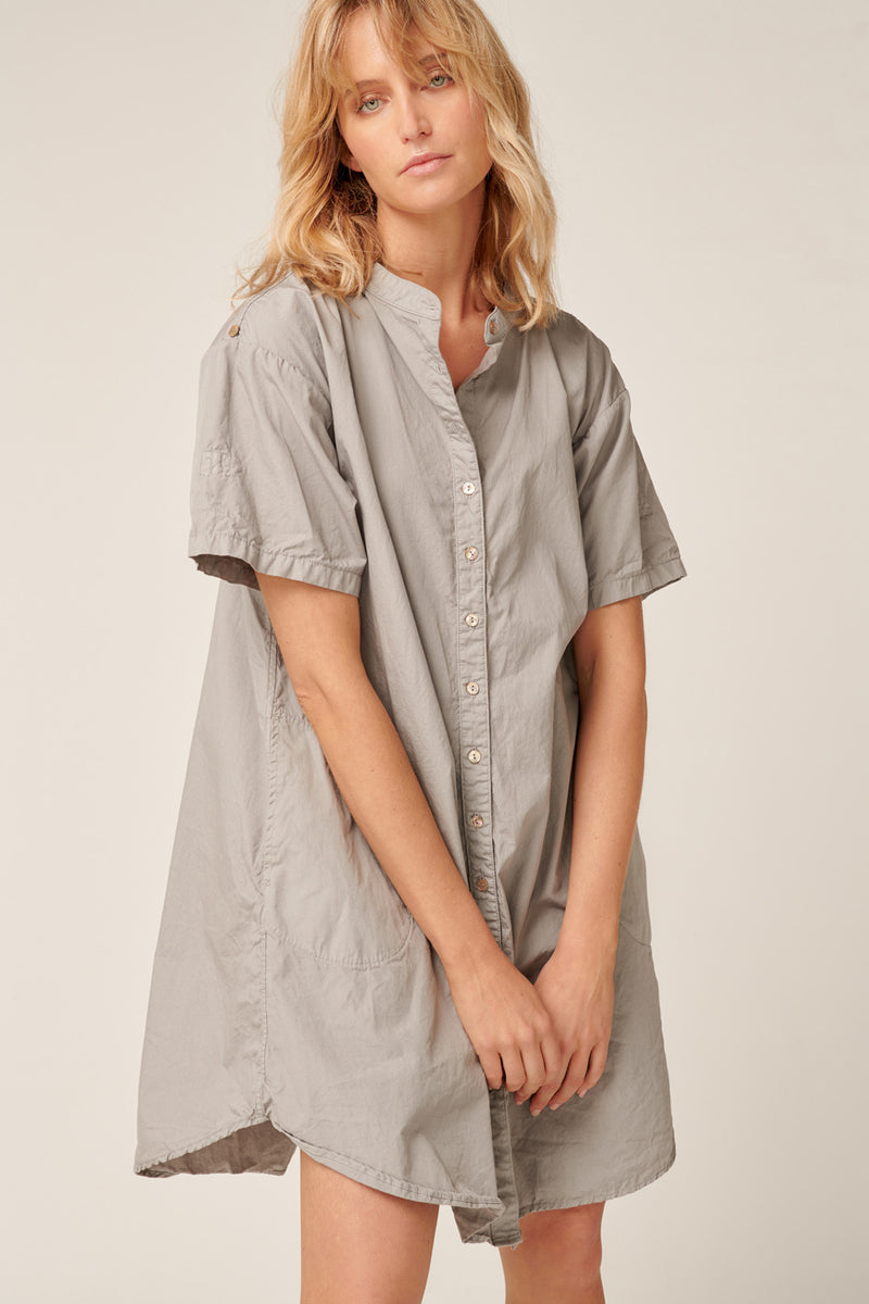 GOPPI DRESS - SOFT GREY