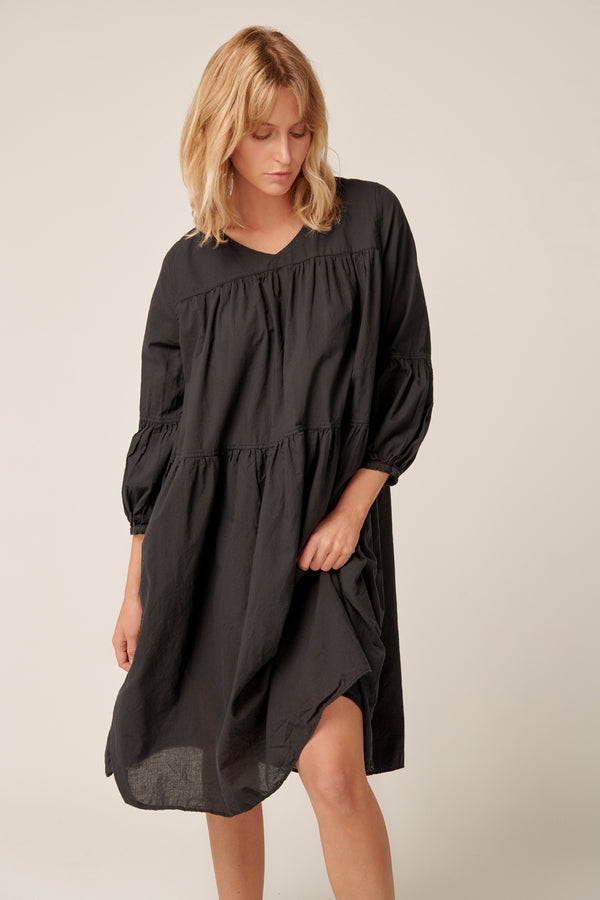 BIBY DRESS - NOIR