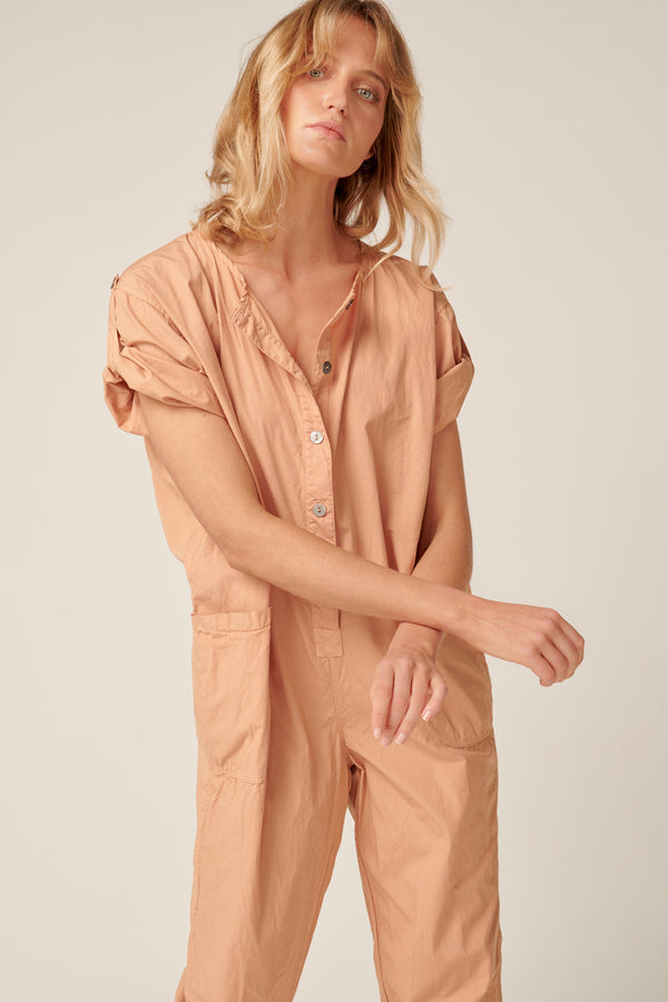 GOPPI JUMPSUIT - PEACHED