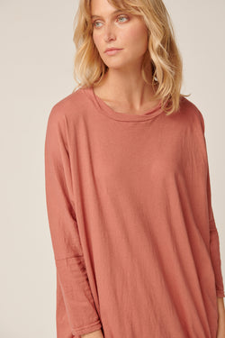 LUNA TUNIC - DUSTY ROSE