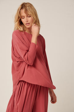 BATWING TOP - CHERRY