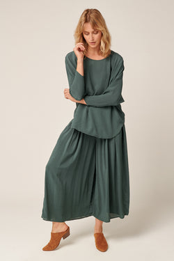 GRUNDY CULOTTE - EMERALD GREEN