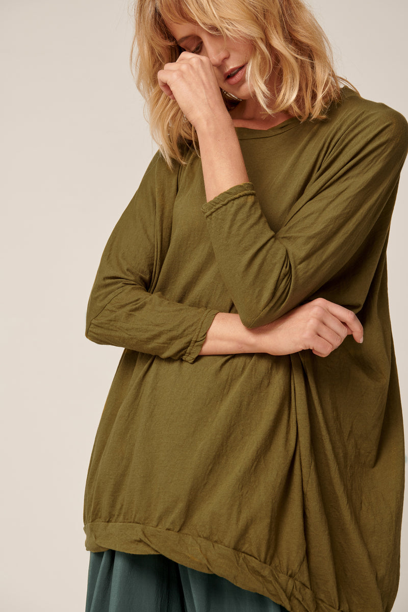 LUNA TUNIC - LAKE GREEN