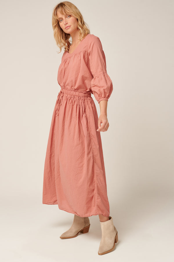RUBY SKIRT - DUSTY ROSE