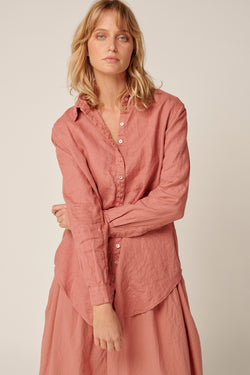 PARADISE SHIRT - DUSTY ROSE
