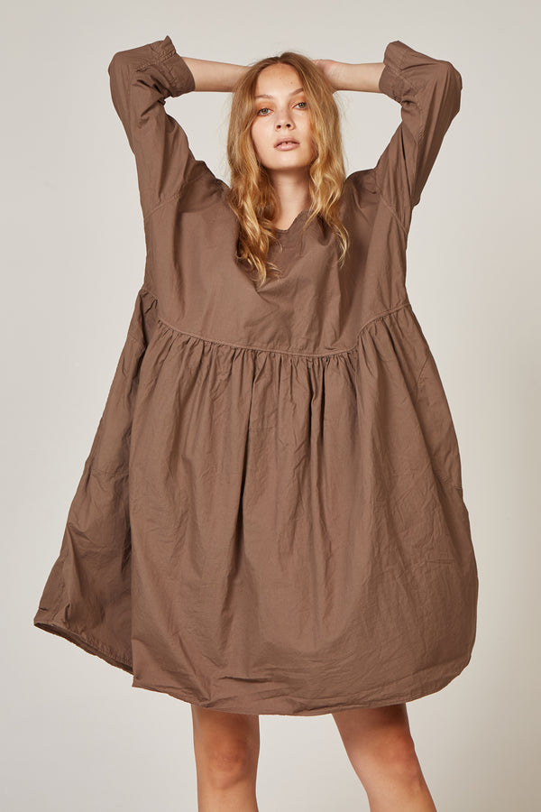 KUMI DRESS - WOODEN (PRE-ORDER)