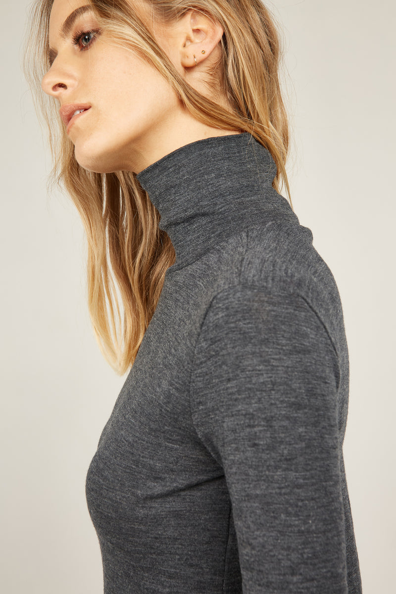 BOWIE TOP - CHARCOAL