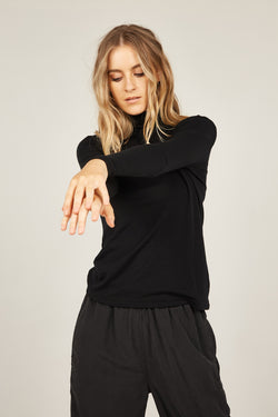 BOWIE TOP - BLACK