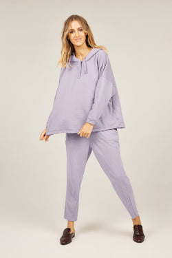 COZY TWISTY PANT - LAVENDER