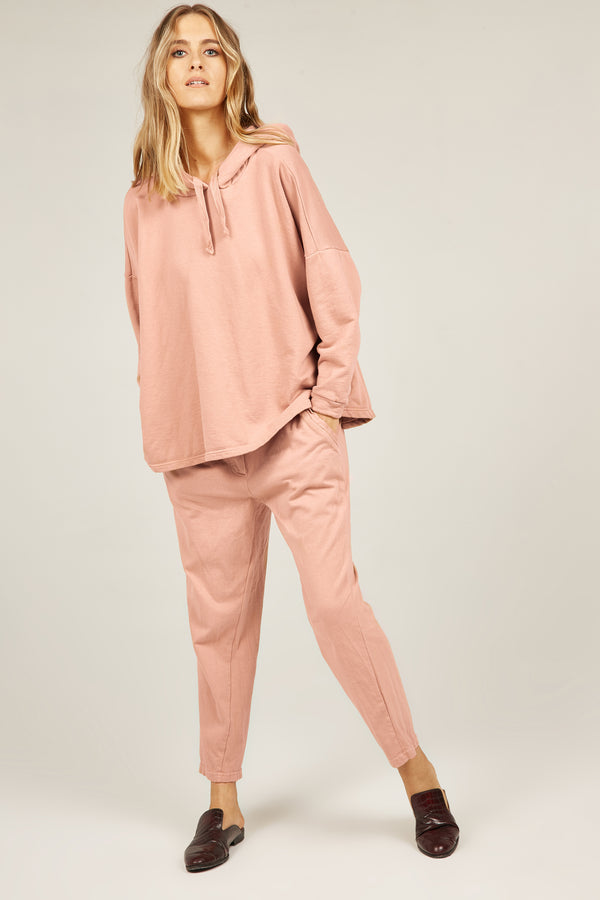 COZY TWISTY PANT - MUSK ROSE