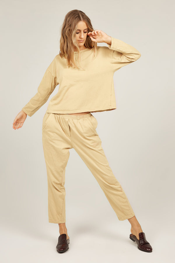 COZY TWISTY PANT - MEADOW