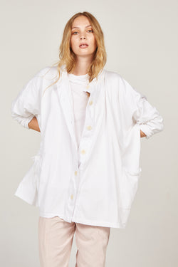 BOX JACKET - BLANC - SIZE 2 LEFT