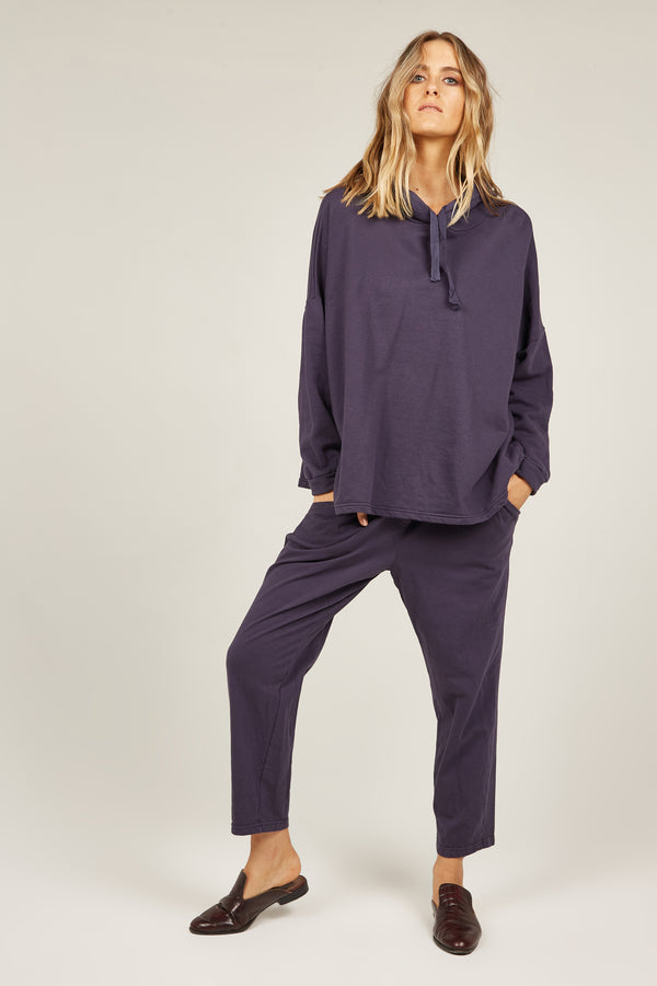 COZY TWISTY PANT - INDIGO