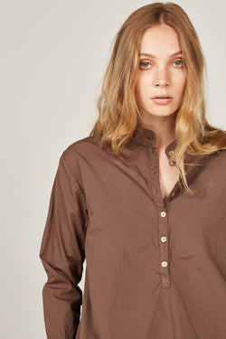 BINDIE SHIRT - WOODEN (FINAL SALE)