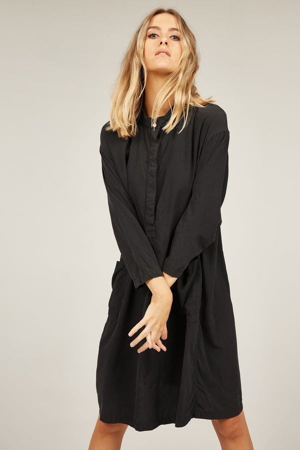FLINDERS SHIRT DRESS - NOIR