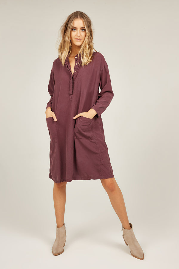 FLINDERS SHIRT DRESS - MULBERRY