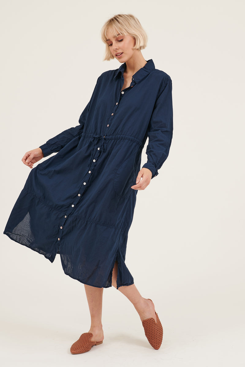 BENNA DRESS - DARK NAVY