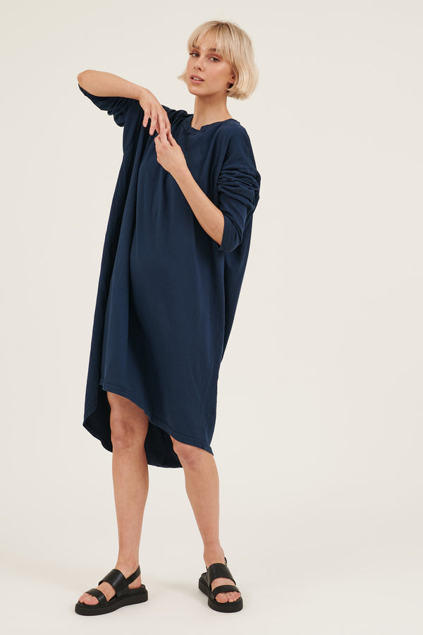 KIKI DRESS - DARK NAVY
